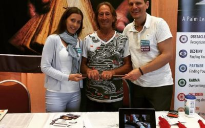 The Indian Palm Leaf Reading Institute took part at the New Life Expo in Florida