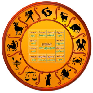 Western and Vedic astrology charts
